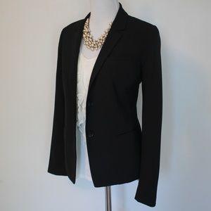 GAP Size 6 Black Suit Jacket Blazer